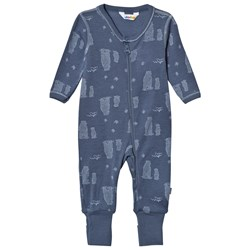 Joha Blue Bear Baby One-Piece