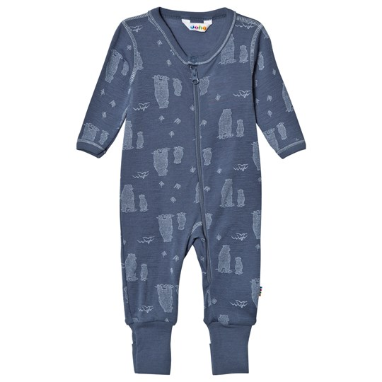 Joha Blue Bear Baby One-Piece Bear Boy