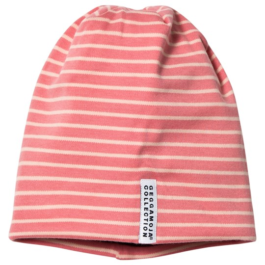Geggamoja Topline Fleece Hat Soft Red/Peach Red