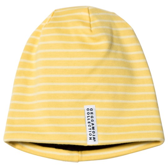 Geggamoja Topline Fleece Hat Yellow/Light Yellow Yellow