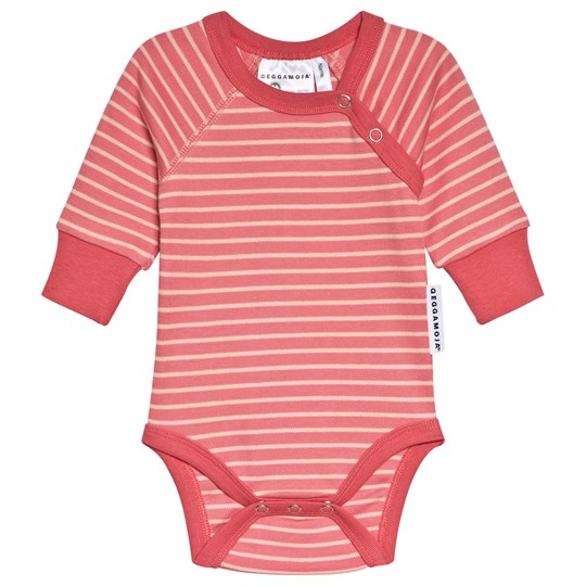 Geggamoja Baby Body Soft Red/Peach Rød