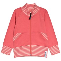 Geggamoja Zip Sweater Soft Red