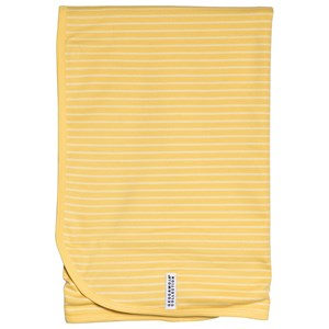 Image of Geggamoja Baby Blanket Yellow/Light Yellow (3125251251)