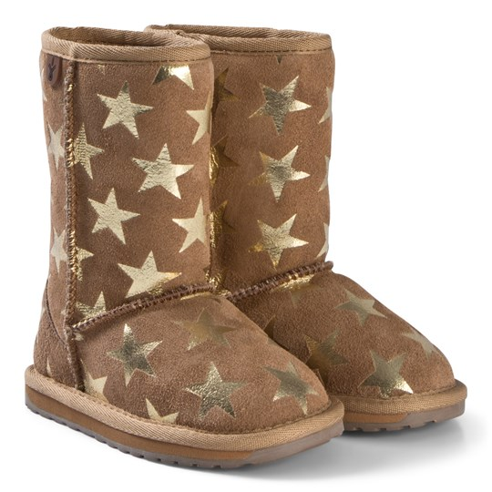315af26885f Emu Australia - Starry Night Boots Chestnut - Babyshop.com