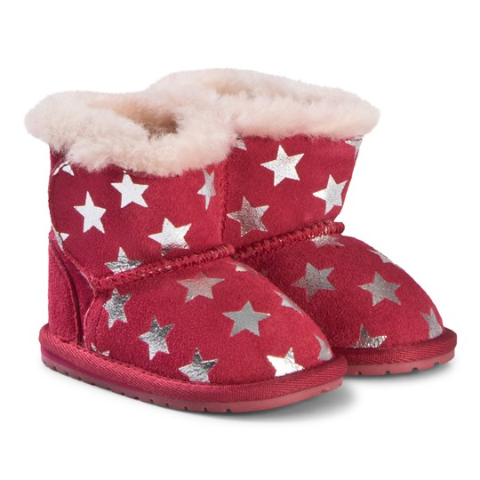 Emu Australia Toddle Starry Night Boots Fuchsia Fuchsia