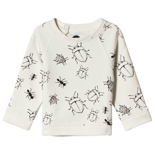 Sproet & Sprout Bugs Print Sweater White Milk