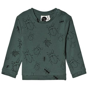 Image of Sproet & Sprout Bugs Tee Forest Green 62-68 (3-6 months) (3125271475)