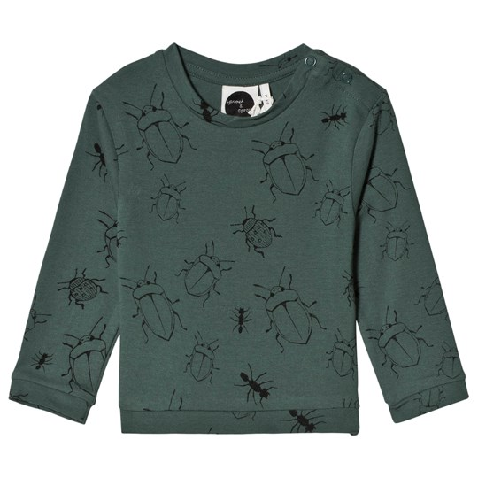 Sproet & Sprout Bugs Tee Forest Green Forest Green