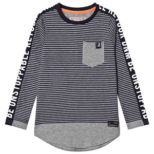Image of Retour Alonzo T-Shirt Ash Grey Melange 11-12 Years (3125281299)