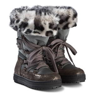 Image of Naturino Avila Tall Faux Fur Snow Boots 28 (UK 10) (1147533)