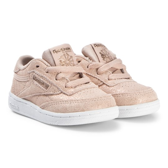 Reebok Pale Pink Gold Club Sneakers MS-ROSE GOLD/BARE BEIGE/WHITE