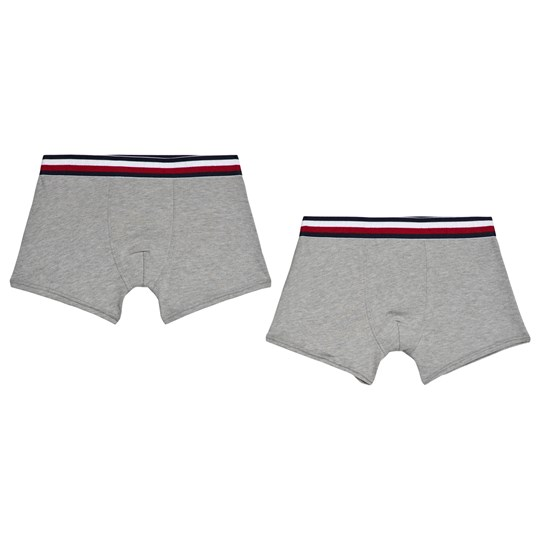Tommy Hilfiger Pack of 2 Grey Flag Waistband Boxers 004