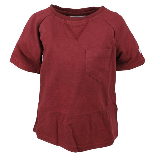 ebbe Kids Magnus Basic T-Shirt Dark Red Rød