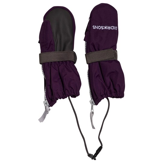 Didriksons Biggles Zip Mittens Berry Purple Berry Purp