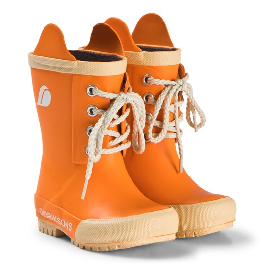 1dcea4c5fc0 Didriksons - Splashman Kids Boots Sun Orange - Babyshop.no