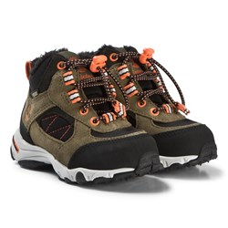 Timberland Dark Olive Ossipee Mid Bungee GTX Boots