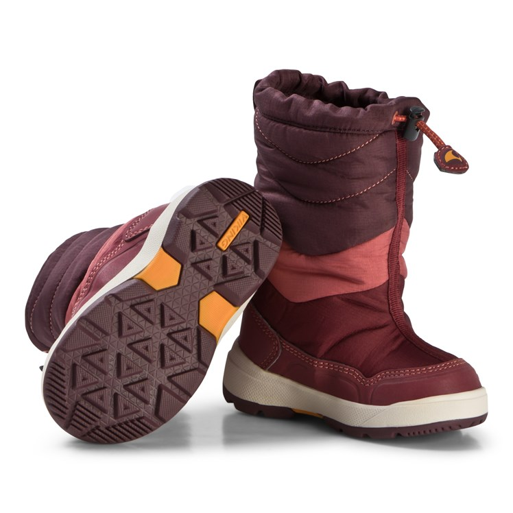 Viking Halden GTX Boots Wine Babyshop.no