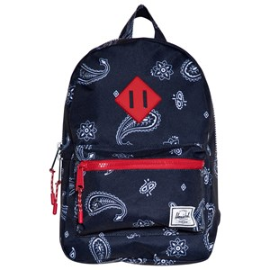 Image of Herschel Heritage Kids Backpack Bandana Paisley Peacoat/Barbados Cherry (3125289733)