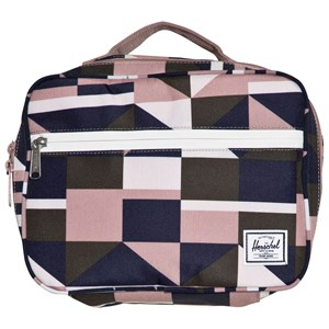 Image of Herschel Pop Quiz Lunch Box Frontier Geo/Ash Rose One Size (1136915)