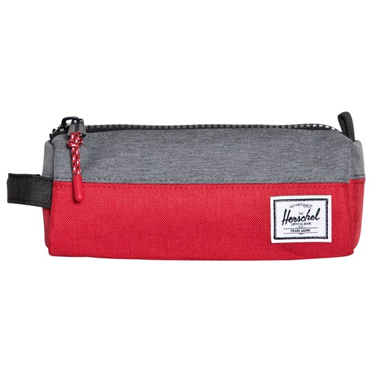 Herschel Settlement™ Pencil Case Barbados Cherry Crosshatch/Mid Grey Barbados Cherry Crosshatch/Mid Grey