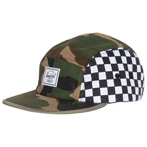 Image of Herschel Glendale Youth Cap Woodland Camo/Checker/Cypress (5-14 years) (3125289757)