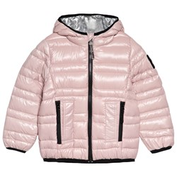Diadora Pale Pink Thermally Insulated Light Down Jacket