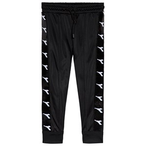 Image of Diadora Black Tech Sequin Sweatpants M (10 years) (1115101)