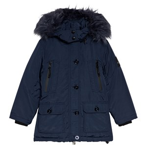 Image of Diadora Navy Technical Hooded Parka XXS (4 years) (1115003)