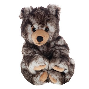 Image of Molli Toys Brown and Grey Teddy Bear 3 - 12 år (3066370049)