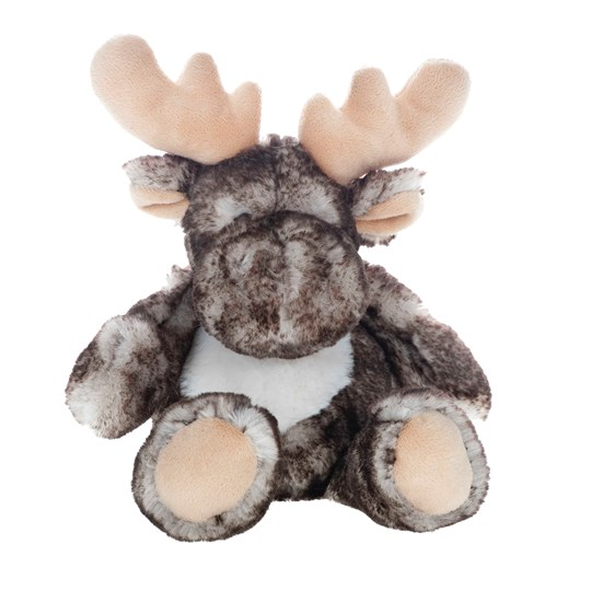 Molli Toys Brown and Grey Moose BROWN