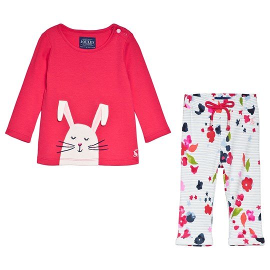 acca71377f Pink Olivia Bunny Applique Top and Leggings Set