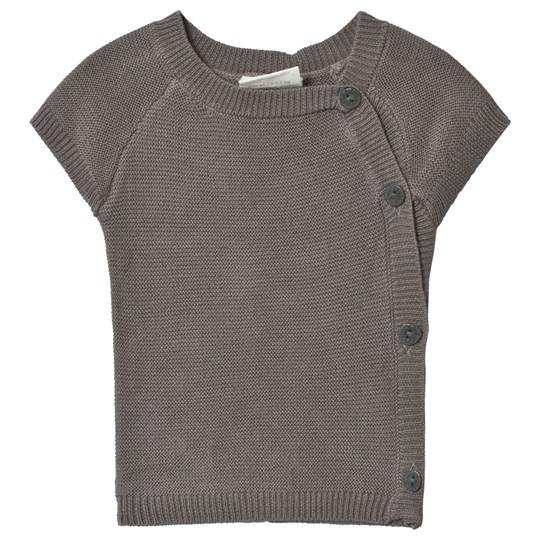 Fixoni Premature Knitted Sweater Grey Melange Grey Melange