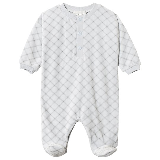 Fixoni Hush Footed Baby Body Soft Blue Soft Blue