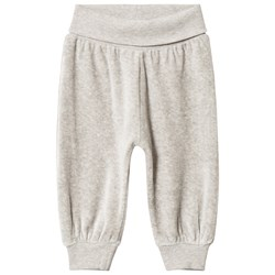 Fixoni Hush Pants Grey Melange