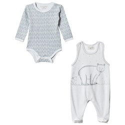 Fixoni Hush Baby Body and One-Piece 2-Pack Soft Blue