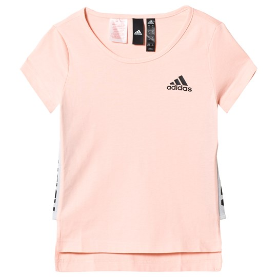 adidas Performance Pink Branded Tee haze coral/black