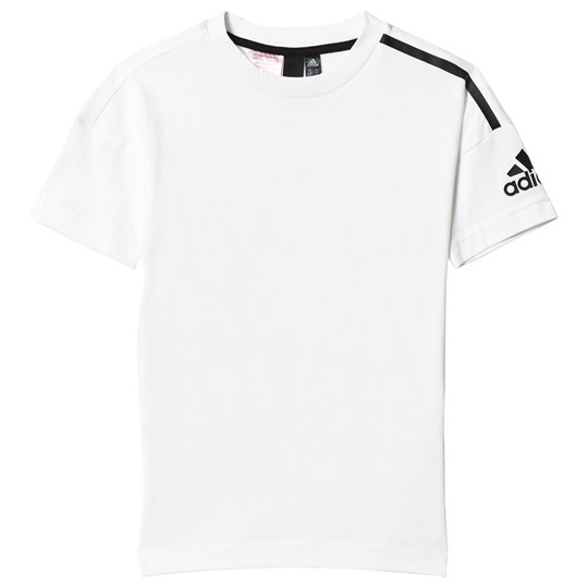 adidas Performance White Zone T-Shirt White/Black