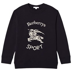 Burberry Light Navy Archive Logo Print Sweatshirt