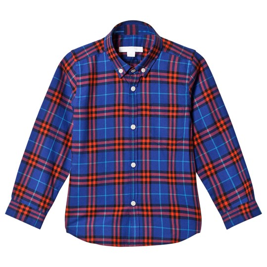 Burberry Fred Check Shirt Sapphire Blue SAPPHIRE BLUE IP CHK