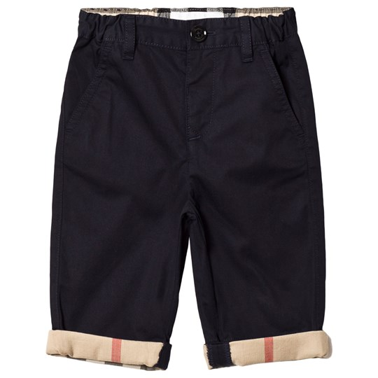 Burberry Navy Padded Ricky Turn-Up Pants INK