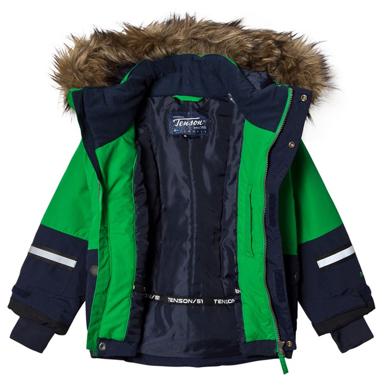 Tenson Daxian Jacket Green Babyshop.no