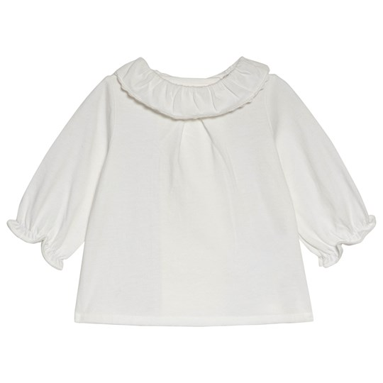 Cyrillus White Frill Top 6349