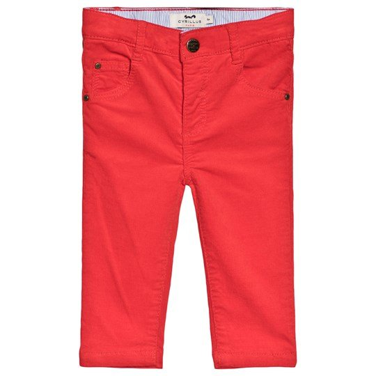 Cyrillus Red Button-Up Cords 6399
