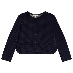 Image of Cyrillus Navy Gold Quilted Cardigan 10 years (3125291513)