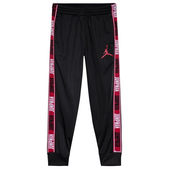 Air Jordan Black Taped Jumpman Graphic Legacy Sweatpants 023 BLACK