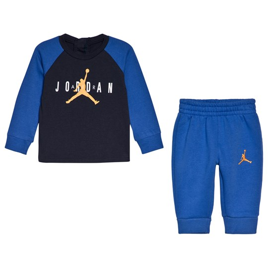 Air Jordan Blue and Navy Premium Jordan Top and Bottom Set U5Y HYPER ROYAL