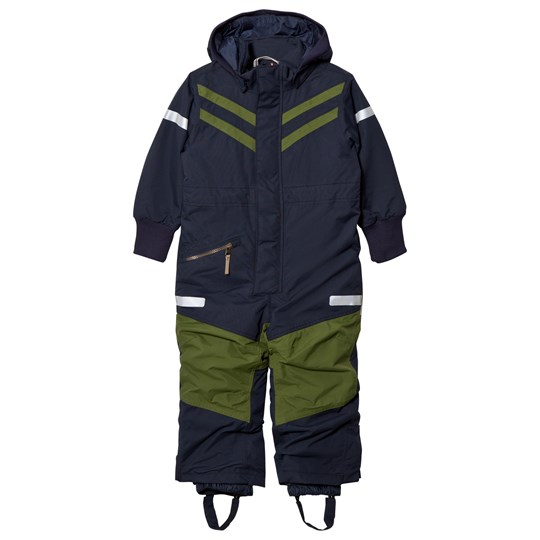 Didriksons Bark Kid´s Coverall Navy Navy
