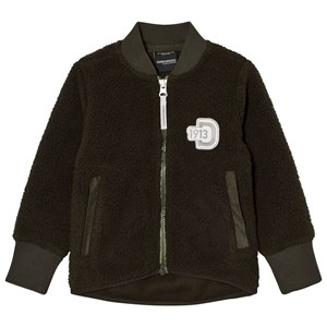 Image of Didriksons Orsa Kid's Pile Jacket Stone Green 100 cm (2743769041)