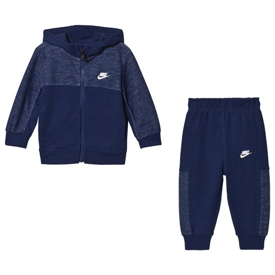 NIKE Blue AV 15 Full Zip Jogger Set U9J