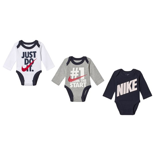NIKE Pack of 3 Just Do It Long Sleeve Body Set 000